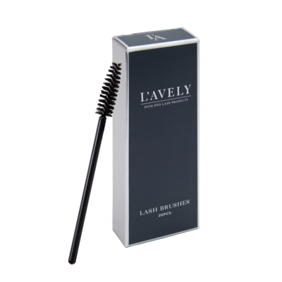 20 pcs. Lash Brushes L'Avely